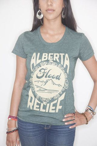 Forest Alberta Flood Relief T-Shirt #causeshirts