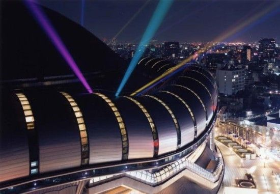 日建設計 『京セラドーム大阪 (旧・大阪ドーム)』  http://www.kenchikukenken.co.jp/works/1228371773/7115/  #architecture