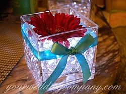 17 images about wedding centerpiece ideas with led for Annual dinner decoration
