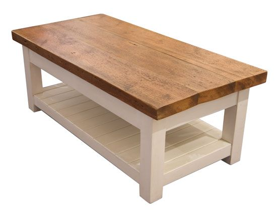 Recycled Rafter Topped Coffee Table