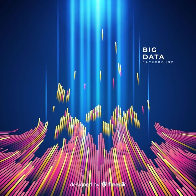 Download Abstract And Shiny Big Data Background For Free Big