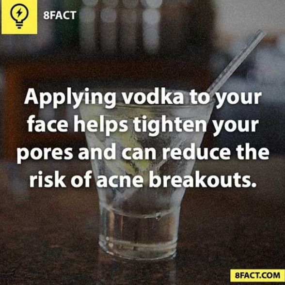 Why not? I don't have acne, but what I don't use on my face, I can drink! Double win. (: