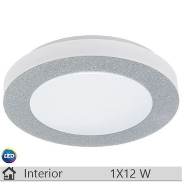 Plafoniera LED iluminat decorativ interior Eglo, gama Capri, model 93507