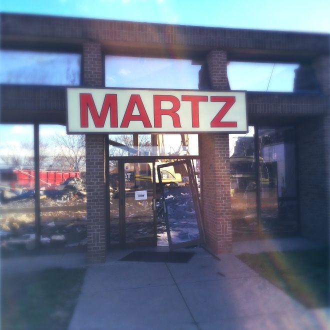 Martz Bus Station Demoltion | SubVerse Aphrodesia
