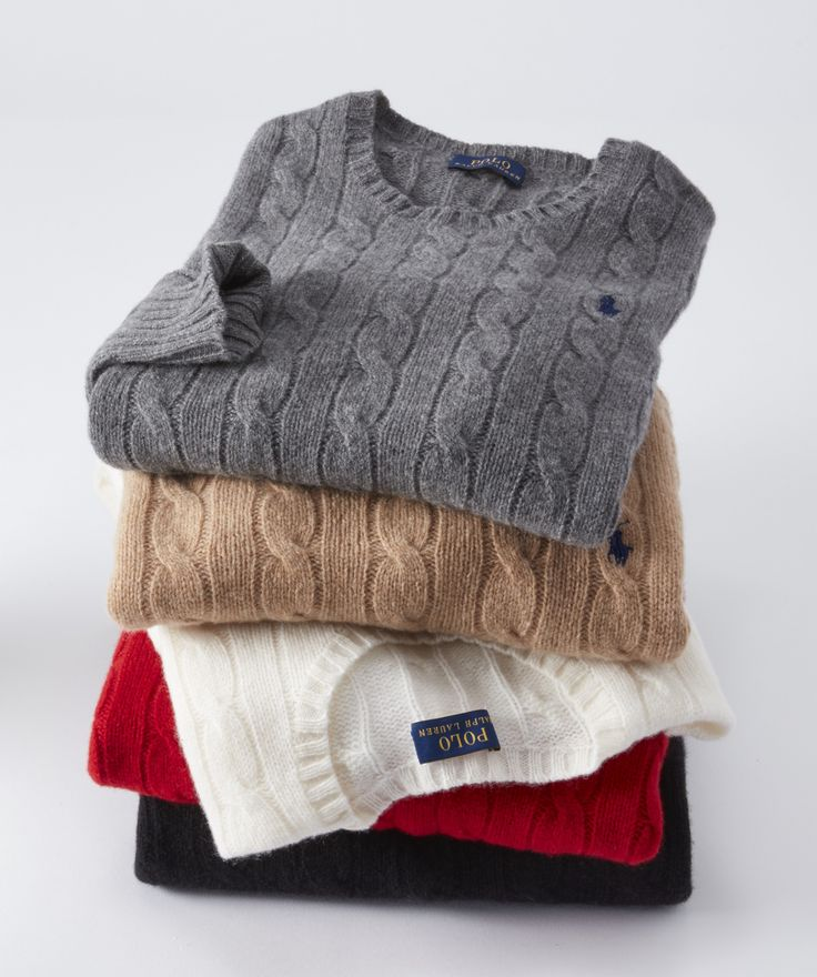 Ralph Lauren- Polo Holiday Sweaters