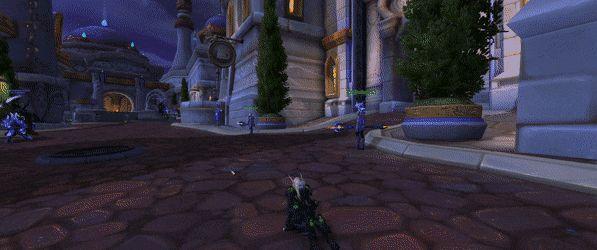 I think my rogue has worms. #worldofwarcraft #blizzard #Hearthstone #wow #Warcraft #BlizzardCS #gaming