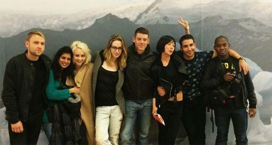 The Sense8 Cast: Max Riemelt, Tina Desai, Tuppence Middleton, Jamie Clayton, Brian J. Smith, Doona Bae, Miquel Angel Silvestre and Aml Ameen