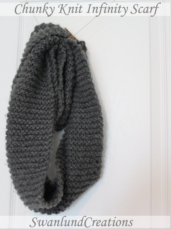 These Chunky Knit Infinity Scarves are great for staying warm during those cool…