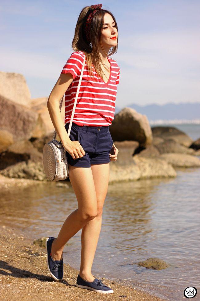 FashionCoolture - 07.06.2015 look du jour Gap navy outfit (1)
