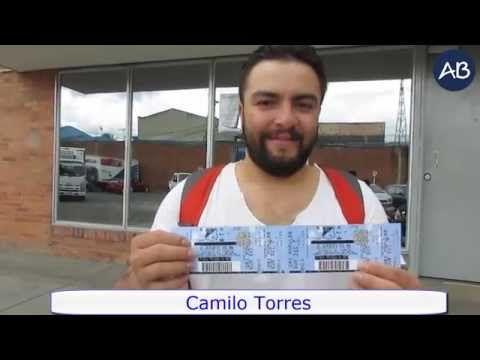 Camilo Torres, seguidor de la fanpage de Aguas de Bogotá en Facebook, respondió acertadamente ¿Cuáles son las localidades donde operamos el servicio público de aseo? y por ello ganó 2 boletas para presenciar el partido Millonarios vs. Tolima el pasado miércoles 07 de octubre de 2015.