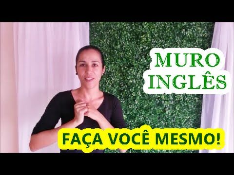 COMO FAZER MURO INGLÊS - PAINÉL PARA FESTA INFANTIL - YouTube