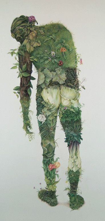 ✯ Green Man :: Canadian Artist Zachari Logan ✯