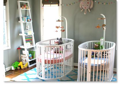 Beautiful Twin Nursery