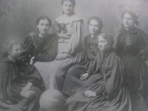 Girls High School Basketball Team ~ Canon City ~ Colorado ~ 1899