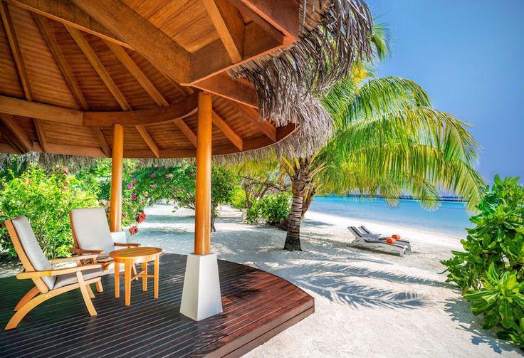 Sheraton Full Moon Resort - beach patio
