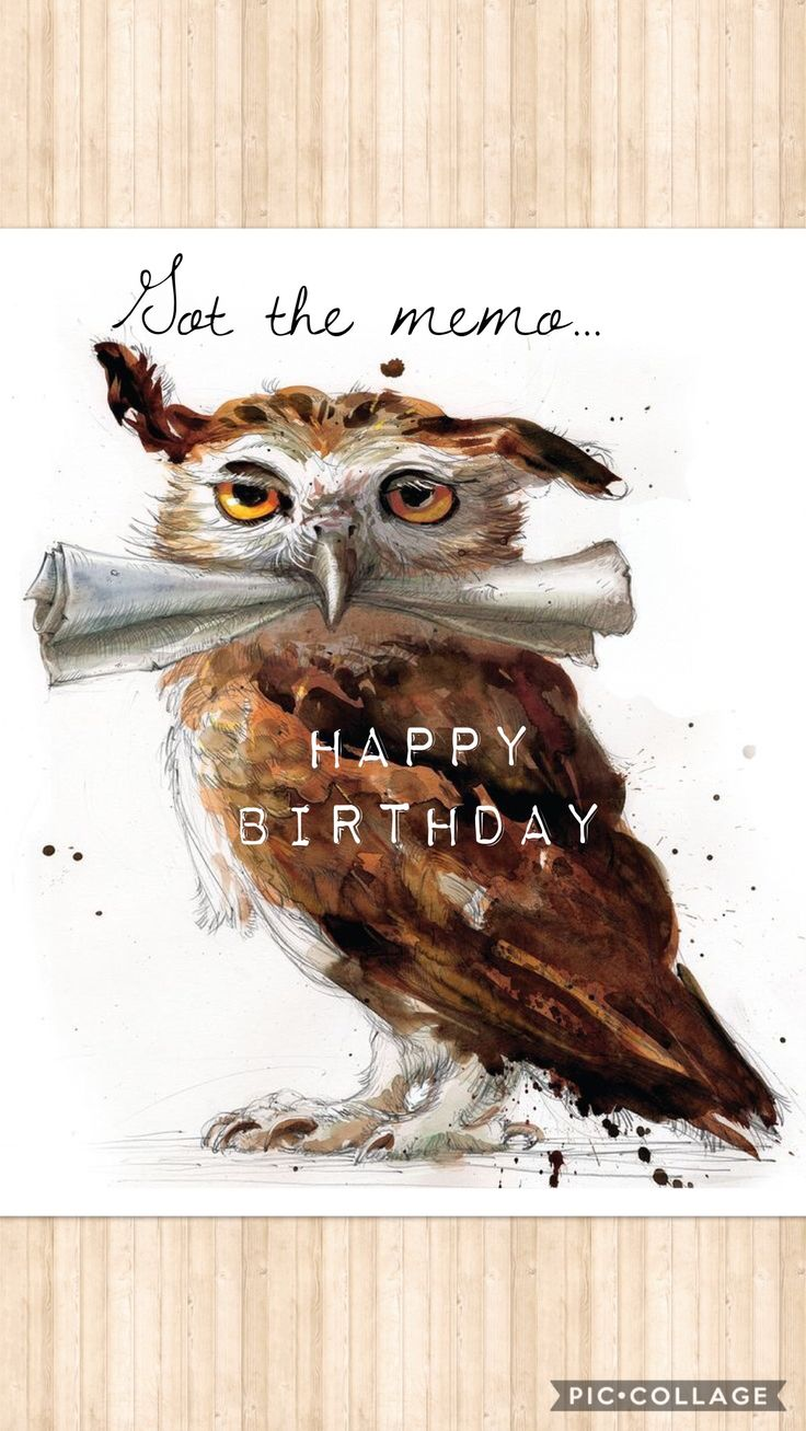 For the memo ~ Happy Birthday