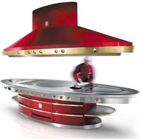 Bijzonder keukeneiland concept