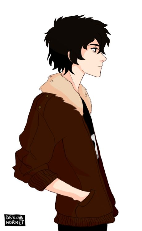 Nico Di Angelo. One thing I want to know is why everybody depicts Bianca as black and Nico as white??