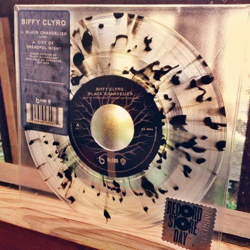 "Biffy Clyro - ""Black Chandelier"" 7-inch"