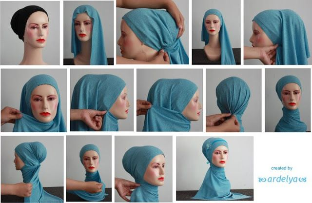 simple #hijab tutorial