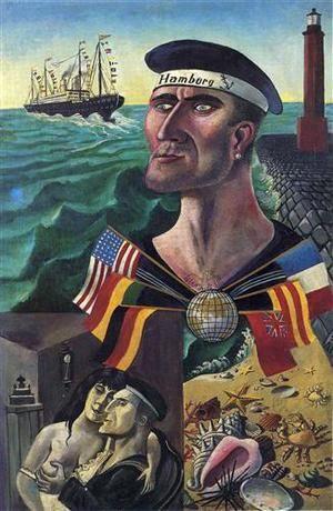 Otto Dix, Goodbye to Hamburg, 1921.