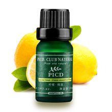10 ml de óleo essencial lemon/rosa/lavanda/cuidados com a pele da árvore do chá natural hidratar acne remoção clareamento massagem óleo de banho spa alishoppbrasil