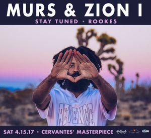 Get down with LA underground rapper Murs & Oakland hip-hop stalwarts Zion I at Cervantes' Other Side on Saturday April 15!