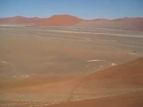 View from Dune 45, #Sossusvlei, #Namibia