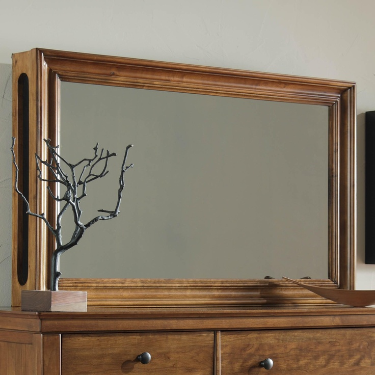 8 Ways To Hide Your Tv In Plain Sight: DIY: Frame Mirrored Glass Over TV