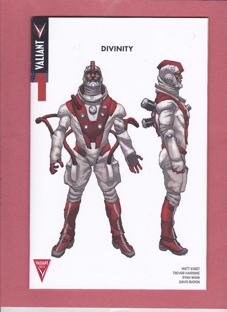 Divinity #1 Variant Incentive  Lewis LaRosa Character Design 1:20 First Print