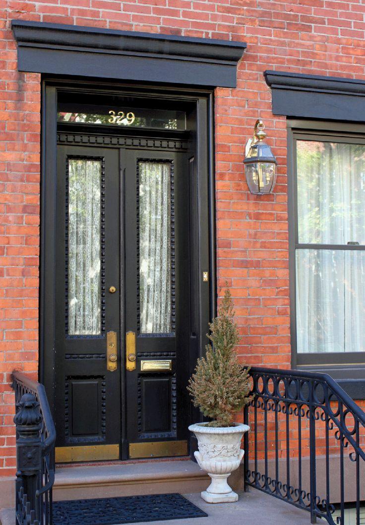 7 amazing black front door ideas november front doors for Amazing front doors