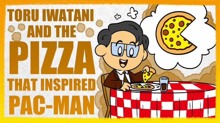 Pac-Man: The Story of Toru Iwatani and the Pizza That Revolutionized Arc...