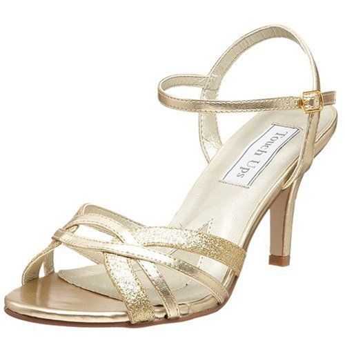 11 best images about wedding shoes and sandals on for Gold dress sandals for wedding