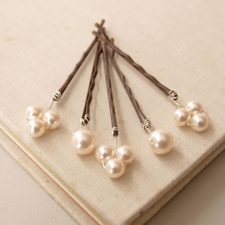 Bliss Pearl Bridal Hair Pins