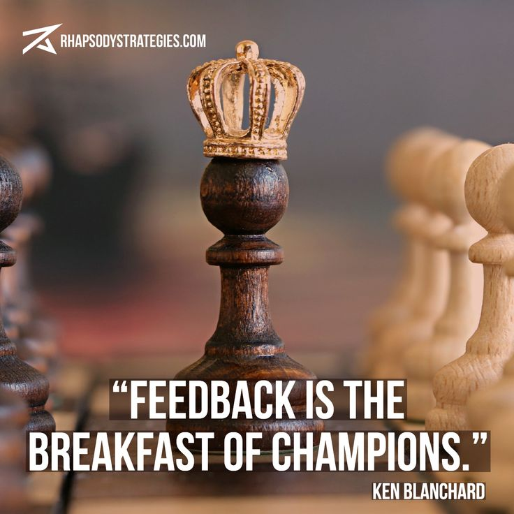 How do you get the vital information you need to perform at your best? That's the power of feedback.  Don't miss our January promotion, the 2018 Success Strategy... A full assessment of your business with a 75-minute consultation, all designed to help make 2018 your banner year in business.  Act now!   http://rhapsodystrategies.com/2018-success-strategy/?utm_campaign=crowdfire&utm_content=crowdfire&utm_medium=social&utm_source=pinterest  #leadership #coaching #businesscoaching #inspiration…