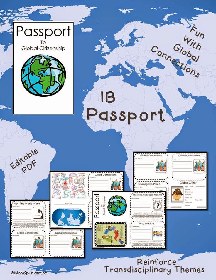 Mom2Punkerdoo: Passport to Global Citizenship for IB Students