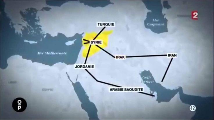 Syrie : La guerre pour le gaz et les gazoducs continue !  حرب خطوط أنابي...