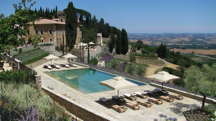 Castiglion del Bosco, a dreamy place with a fantastic pool! A unique and luxury location in the heart of Tuscany.