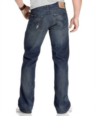 Levi's Jeans, 527 Boot Cut, Indie Blue, - This classic pair of jeans features some modern updates and a perfect worn-in look and feel.