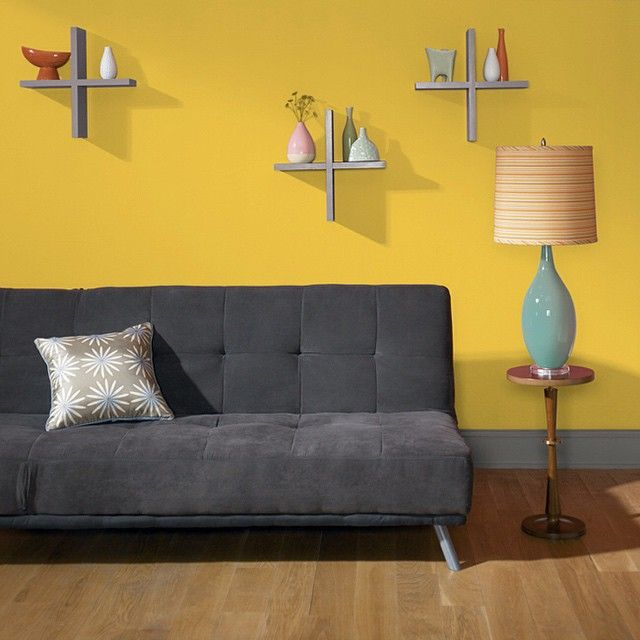 Energize Your Living Room With A Bright And Happy Yellow