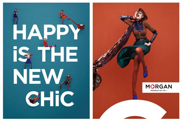 Happy is the new chic - Morgan
