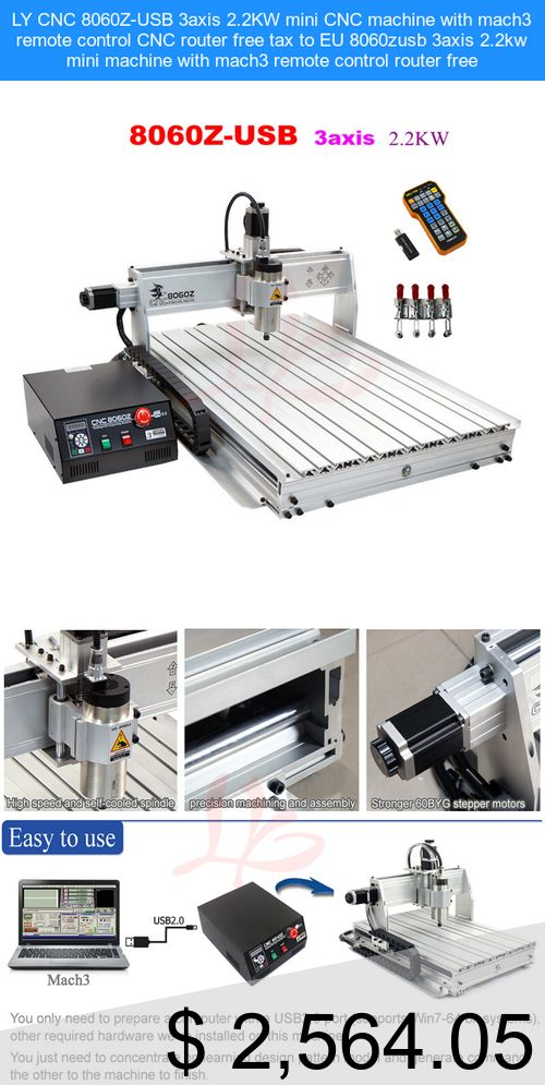 Only $2,564 05] LY CNC 8060Z-USB 3axis 2 2KW mini CNC