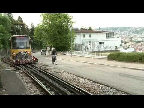 Die neue Art des Radfahrens. Fahrräder mit zukunftsweisendem Elektroantrieb - Mi dem Stromrad gegen die Zacke auf die Stuttgarter Weinsteige.