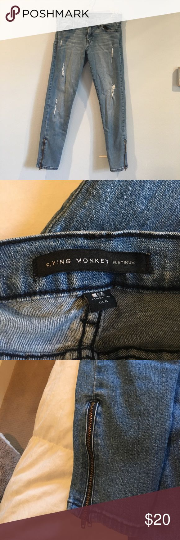 Flying Monkey jeans great condition Flying Monkey Jeans Skinny