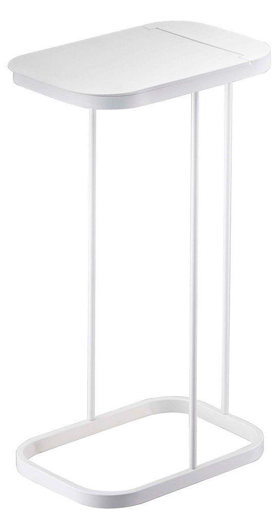 Amazon|山崎実業 ゴミ箱 分別ゴミ袋ホルダー ルーチェ ホワイト 7552|フタなしゴミ箱 オンライン通販