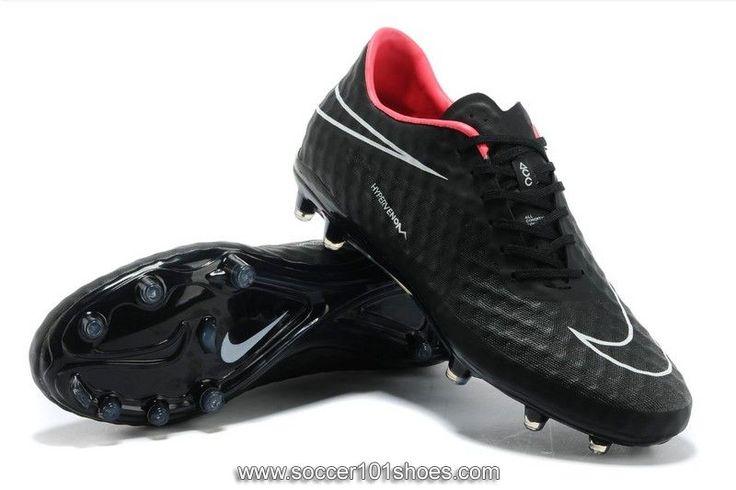 Nike Men's Hypervenom Phantom FG Football Shoe Black Soccer Cleats  $76.00