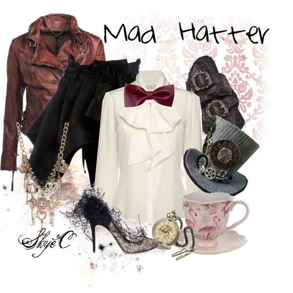 """""""Mad Hatter Inspired Outfit"""" by rubytyra on Polyvore"""