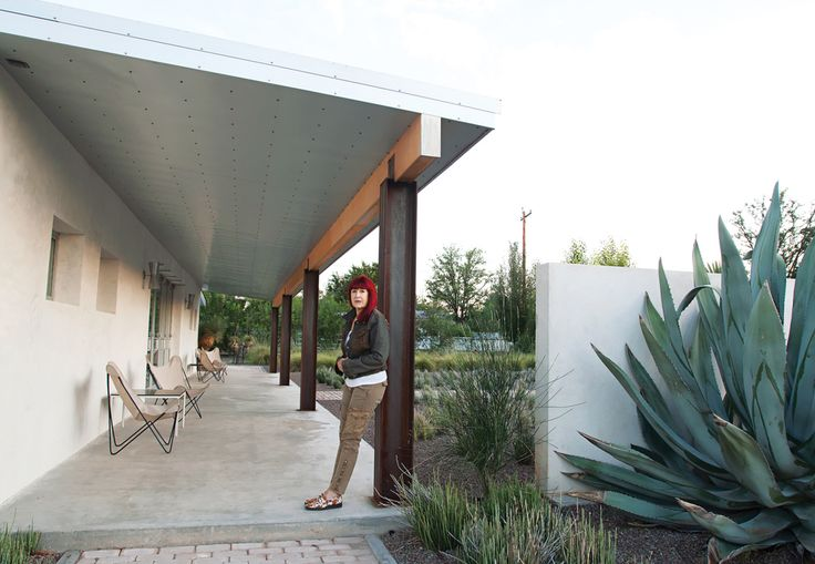 The first time Houston-based architectural designer Barbara Hill set foot inside what would become her future second house, a 100-year-old adobe in Marfa, Texas, she found a cramped warren of rooms filled to the brim with trash. The structure, originally built as a private dance hall, had lived through many incarnations, from a grocery and candy store to, more recently, a haven for detritus. Undaunted, Hill purchased the property and spent the next year and a half transforming the derelict…