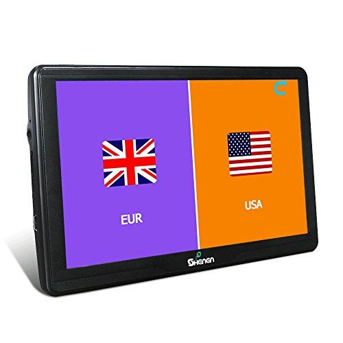 All America Europe Maps 16GB Car Navigation 7 Inches GPS SAT NAV Capacitive Touchscreen Lifetime Maps Updates with 2 Car Charger. For product info go to:  https://www.caraccessoriesonlinemarket.com/all-america-europe-maps-16gb-car-navigation-7-inches-gps-sat-nav-capacitive-touchscreen-lifetime-maps-updates-with-2-car-charger/