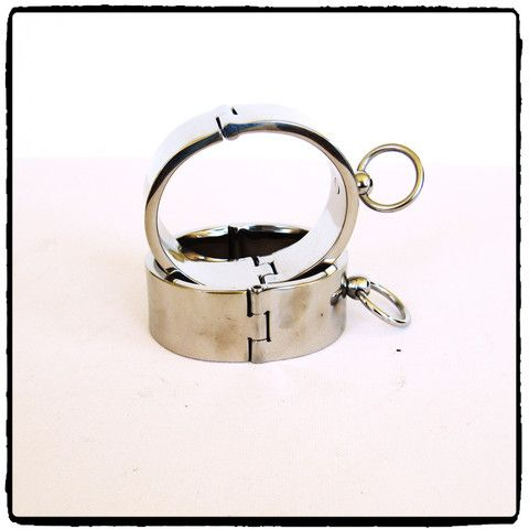 Thick Steel Ankle Cuffs – Lady Kink